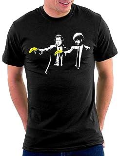 MERCHCODE Banksy What Boy tee - Camiseta Hombre: Amazon.es: Ropa y accesorios