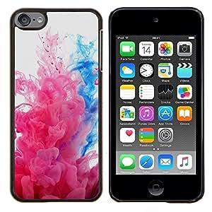 TECHCASE---Cubierta de la caja de protección para la piel dura ** Apple iPod Touch 6 6th Touch6 ** --Explosiones de color
