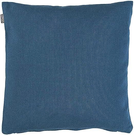Linum Pepper Funda de cojín de Pimienta, algodón, Azul añil, 40 x 40 cm: Amazon.es: Hogar