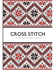 Cross Stitch 14 Count Graph Paper Notebook: DIN A4 | 110 Pages | For Embroidery