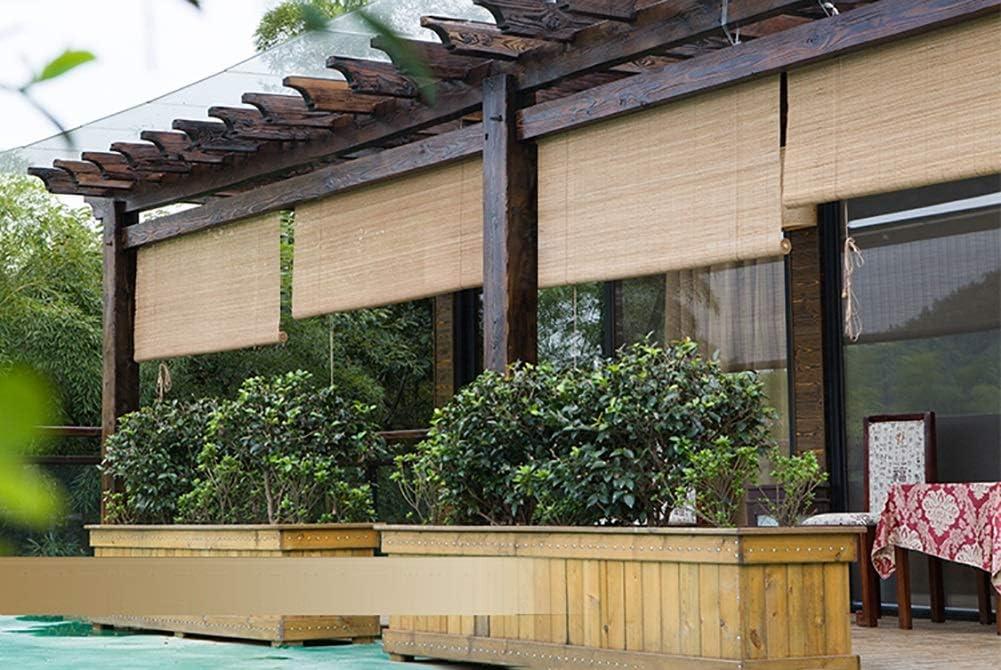 FF Estores enrollables Persianas enrollables para Exteriores con Ganchos, Sombrillas Exteriores Opacas para balcón con pérgola de Porche, 80/100/120/130/140 cm de Ancho (Size : 120×100cm): Amazon.es: Hogar