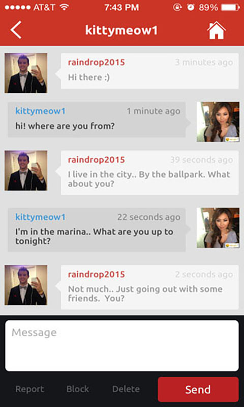 flirt chatting website