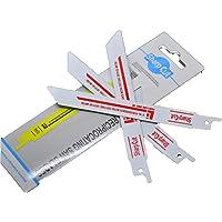 10pcs 6 inch 18TPI Bi-Metal Reciprocating Saw Blades for Metal Cutting Sabre Saw Blades