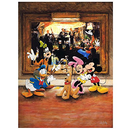 """""""Art That Makes You Move"""" Hand Embellished Limited Edition Giclee on Canvas by Stephen Shortridge from Disney Fine Art; Numbered, Hand Signed, with Certificate!"""