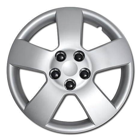 Tapacubos para Chevrolet Cruze HHR (sola pieza) rueda cover – 16 Inch Plata Repuesto