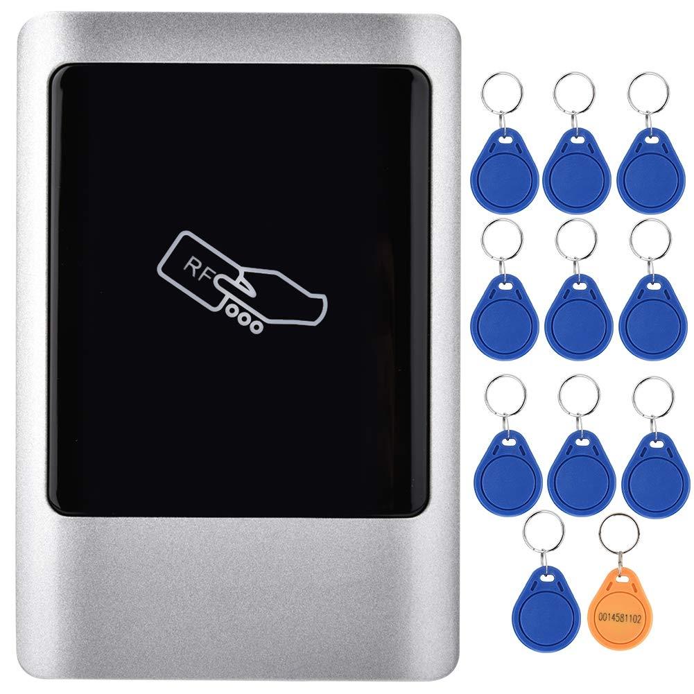 Wandisy Lector de Tarjetas de Puerta IC: 13,56 MHz Lector RFID Wiegand para Exteriores Tarjeta Inteligente de gesti/ón de Acceso a Puertas a Prueba de Agua