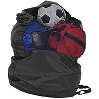Uitrusting Plunjezak Heavy Duty Mesh Opbergzak Opslag Ballenzak Ballen Mesh Trekkoord Opbergtas voor Voetbal voor…