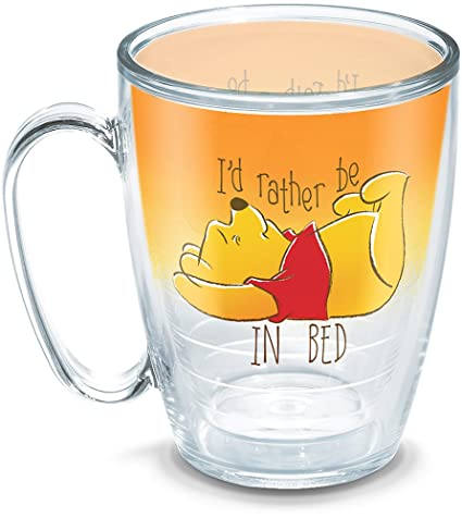 With 1290039 I'd In Tervis Disney Bed Rather Tumbler Winnie MugClear Pooh Wrap16oz The Be 2YDIHeWE9