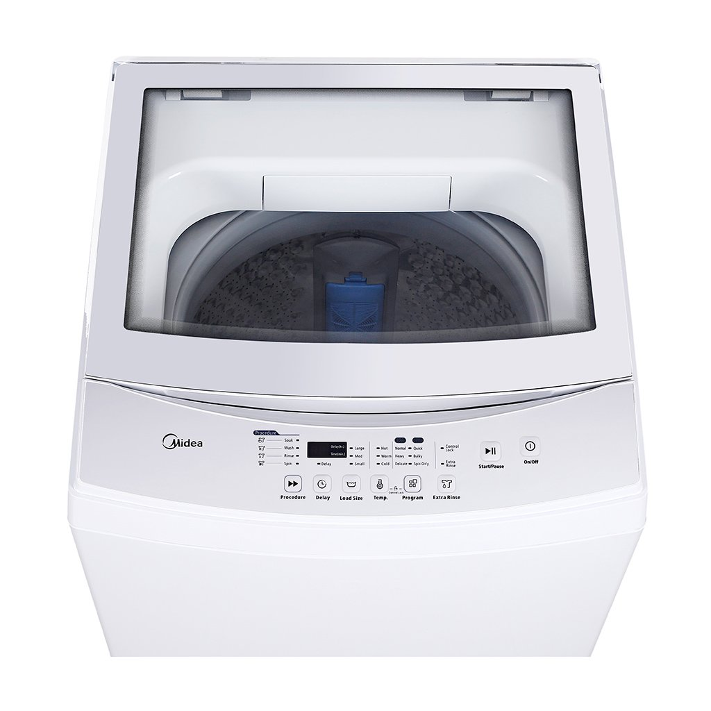 MIDEA MAC160PSW 1.6 cu. ft. Portable Compact Washing Machine, White, Cubic