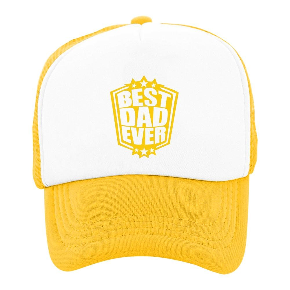 Kids Baseball Cap Best Dad Ever Classic Mesh Outdoor Hat