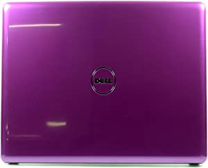 Dell Inspiron 1440 Purple LCD Back Cover Lid with Antenna Cables HTYY0