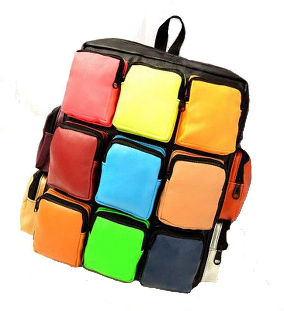 Bromeo Cubes Sac /à dos /école 2015 Neuf mode filles Rubik