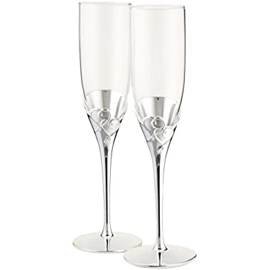 Lenox True Love Glass Flute Pair - 812613