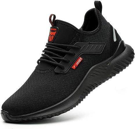 JIEFU Steel Toe Cap Safety Shoes Men