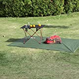 OUTRY Waterproof Multi-Purpose Tarp - Tent Stakes Included...