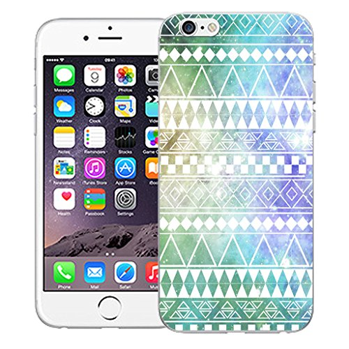 """Mobile Case Mate iPhone 6S Plus 5.5"""" Silicone Coque couverture case cover Pare-chocs + STYLET - Spring pattern (SILICON)"""