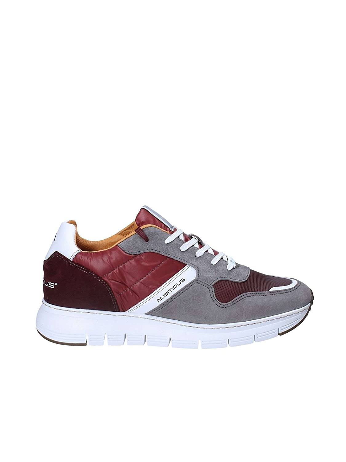 Ambitious 8283 Sneakers Man Rouge 44