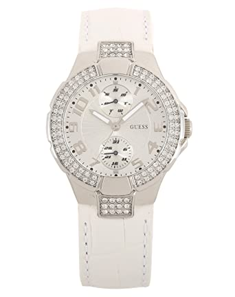 Guess W11607L1 Ladies Mini Prism White Watch