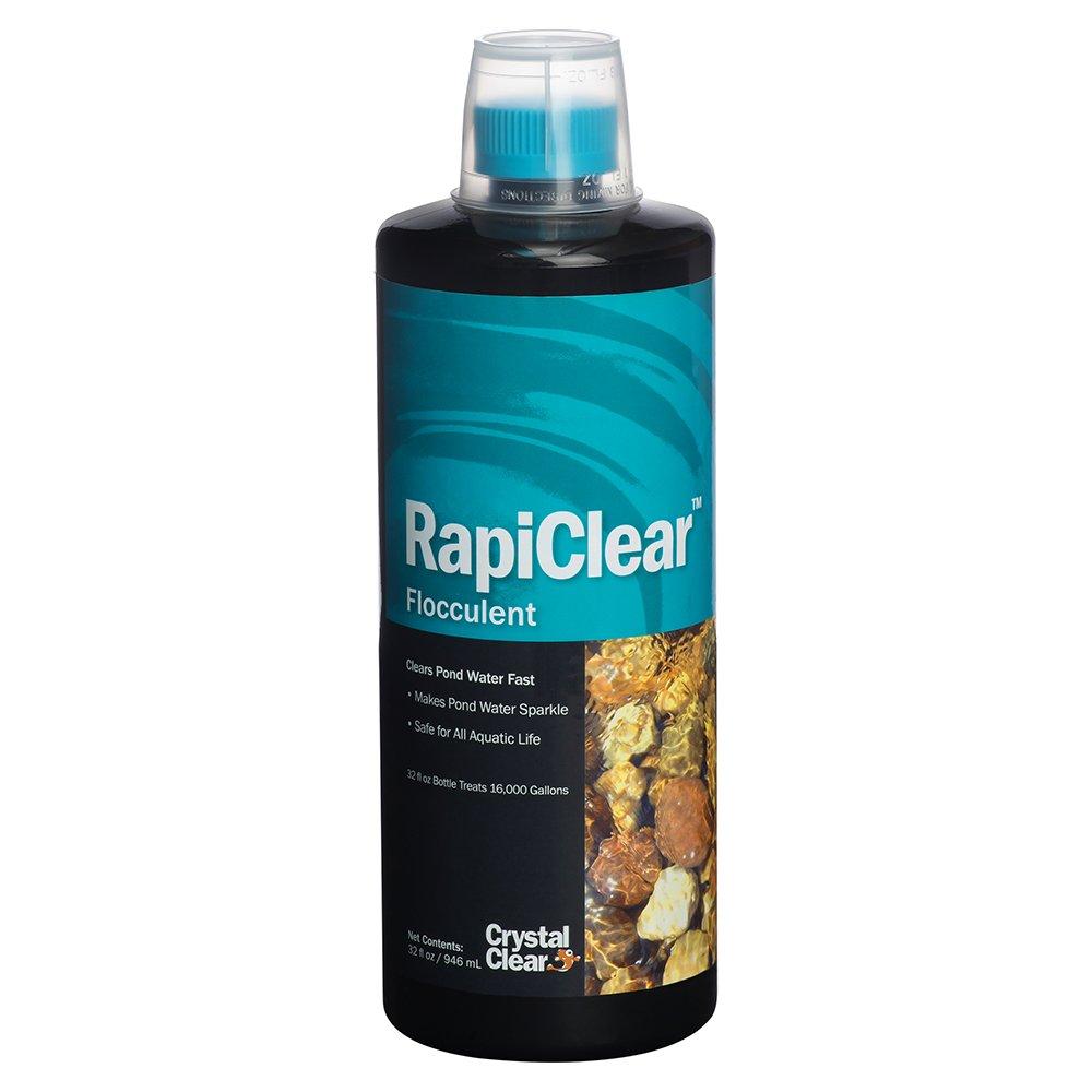 CrystalClear CC063-32 Rapiclear Pond Flocculent, 32 fl. oz. by CrystalClear
