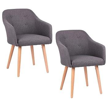 974bde7aee Kingpower 2/4/6/8 Set Stühle Esszimmerstühle Stuhl Sessel Armlehne Versch.
