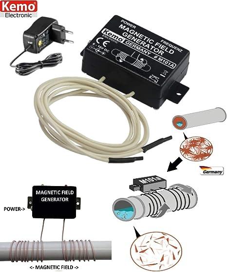 Imagen deMectronica srl - ANTICALCARE DECALCIFICATORE MAGNETICO ELETTRONICO TUBAZIONI + ALIMENTATORE SPINA