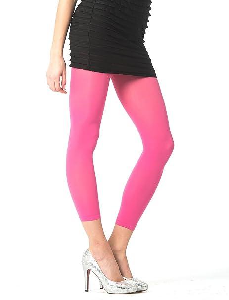 85e9b27c9fc22 under2wear modisch elegante Damen Leggings 7/8 Länge, 60 Den ...