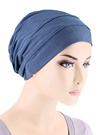 Lux Ultra Soft Bamboo Pleated Beanie Cap 7a5be04f1afd
