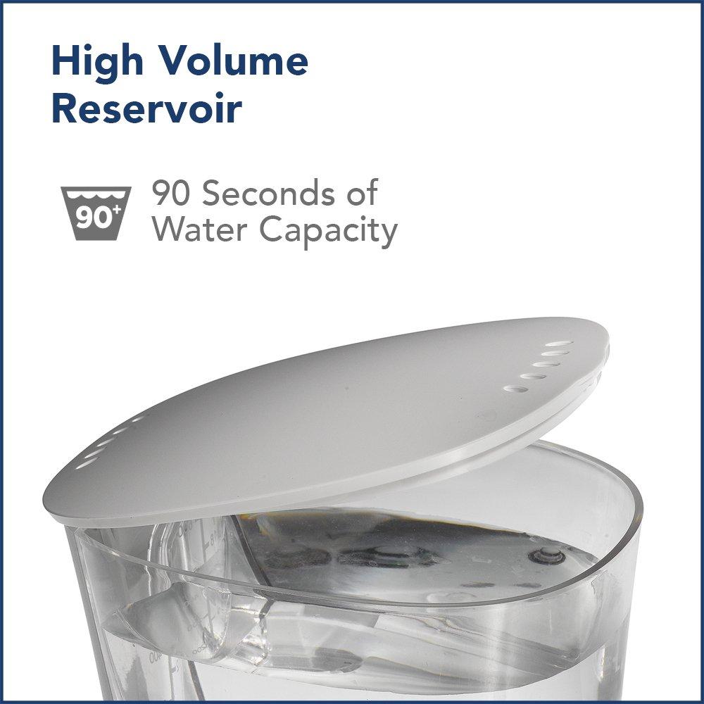Waterpik Water Flosser Electric Dental Countertop Oral Irrigator For Teeth – Aquarius Professional, WP-660 White by Waterpik (Image #7)