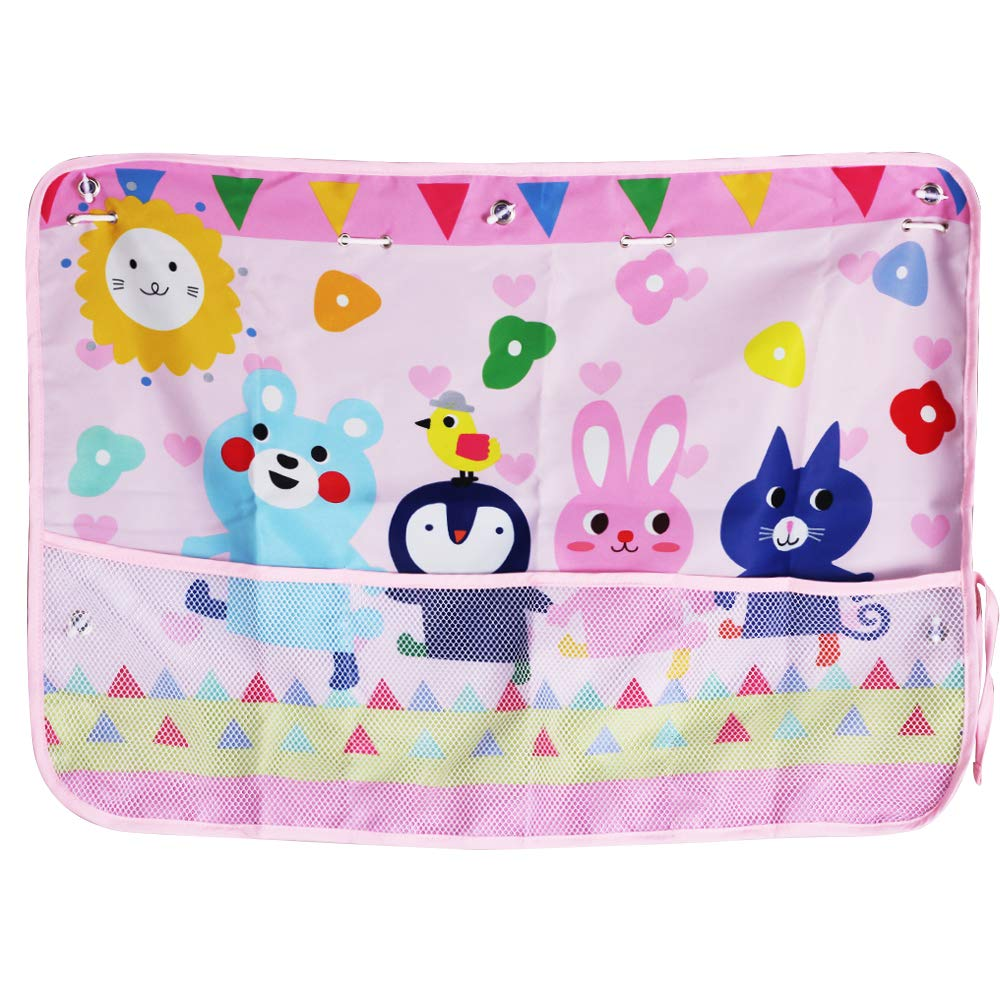 MINI-FACTORY Car Sun Shade for Kid Girls, Universal Fit Car Side Window Shade Curtain UV/Sun Glare Protection for Kids/Baby - Cute Animals - Pink by MINI-FACTORY