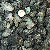 One Pound Natural Rough Emerald - Crystal Tumbling, Cutting, Cabbing