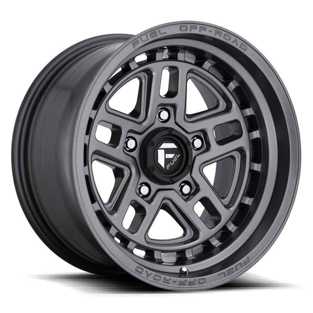 20x9 Fuel Offroad Wheels Nitro D668 6x139.7 1 Offset 106.3 Centerbore - Matte Gunmetal | P# D66820908450 | WHEELS ONLY | NEW | AUTHORIZED DEALER
