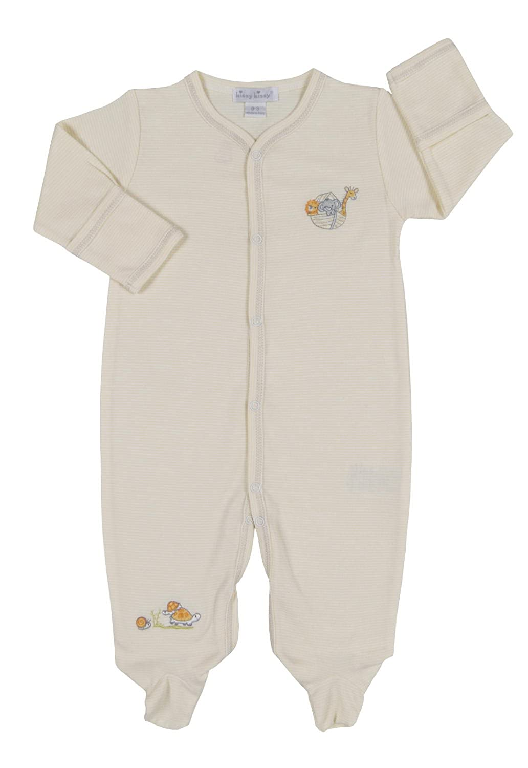 Kissy Kissy Unisex-Baby Infant Mini Ark Footie