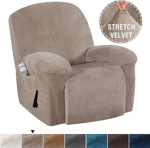 Amazon Com H Versailtex Real Velvet Sofa Cover For Recliner Sofa
