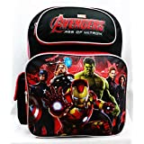 Backpack - Marvel - Avengers All Heroes Black/Red School Bag New a01334