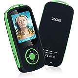 Lettore Mp3 Bluetooth YIKALU 16GB Lettore Mp3 Portatile Musica Player Hi-Fi Lossless Sound Con Radio Fm Supporta Fino 64GB SD Card Blu