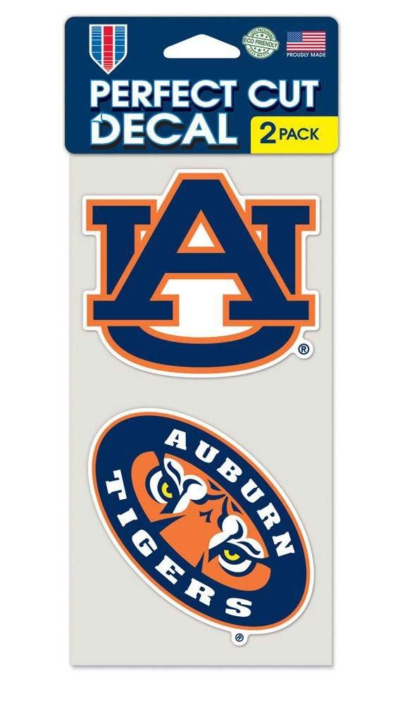 Wincraft NCAA Auburn University Perfect Cut Decal (Set of 2), 4'' x 4''