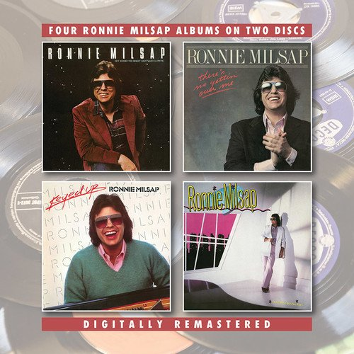 RONNIE MILSAP - Out Where The Bright Lights Are Glowing / There