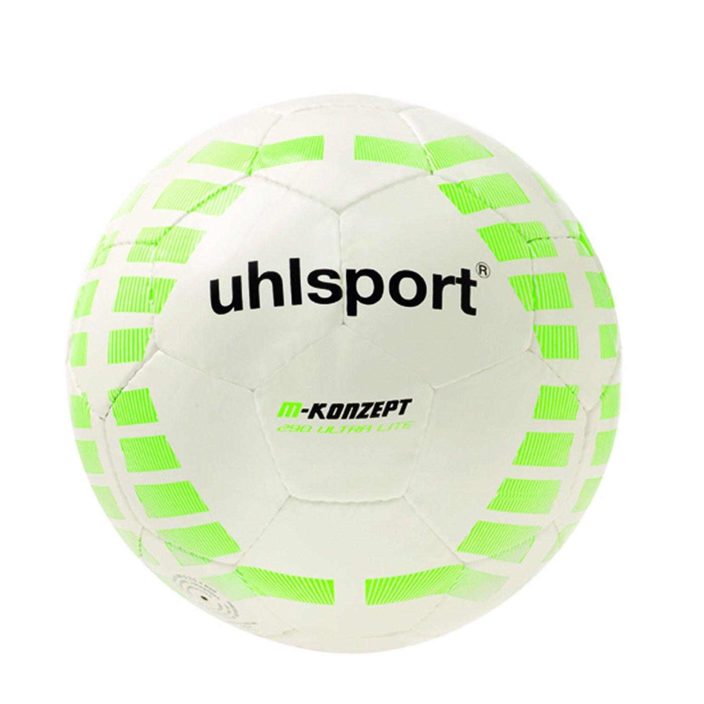 Uhlsport M-KONZEPT 290 ULTRA LITE - Balón de fútbol blanco weiss ...