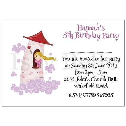 Personalizado invitar. Fiesta de cumpleaños invitaciones ...