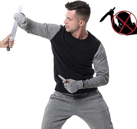 TBDLG Chaleco Ligero de puñalada, Fuerza elástica Camiseta funcionales Seguridad Gilet, con protección para el Cuerpo Hombres Mujeres Policía,L: Amazon.es: Hogar