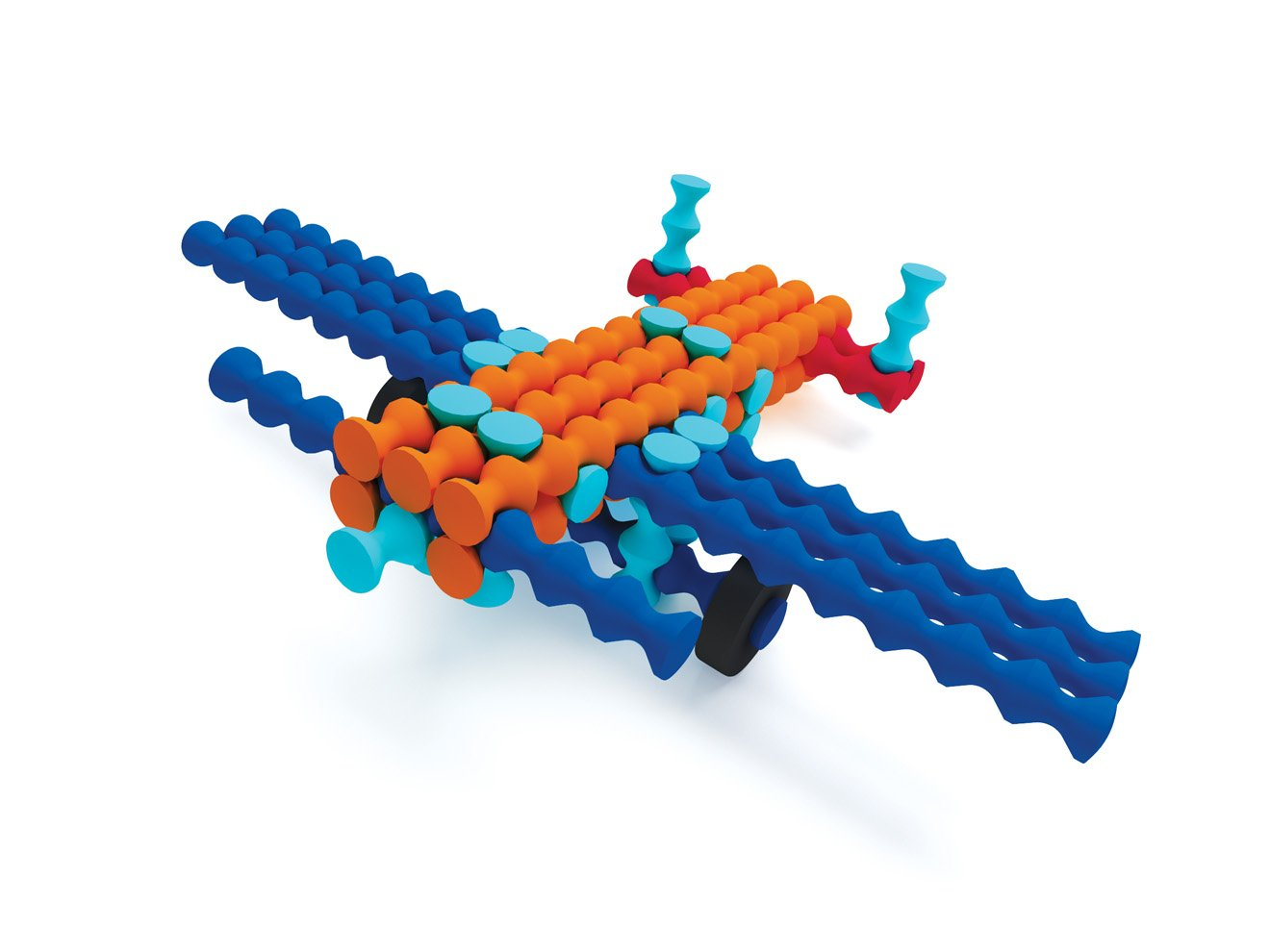 Popular Playthings Playstix Vehicles Set Huntar Company Inc 130 pieces 90010
