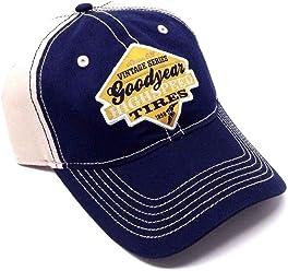 4032453b783 Goodyear Tires Vintage Series Logo Curved Bill Snapback Hat