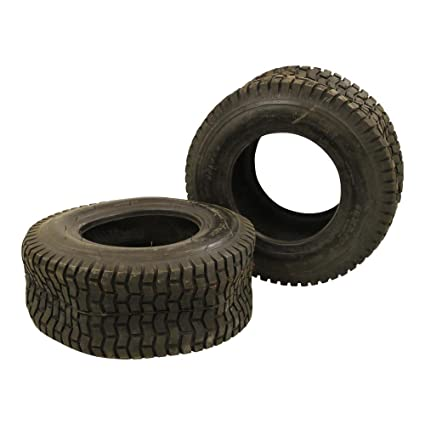 2 Neumáticos 16 x 6.5 - 8 schlauchlos TL Césped Tractor ...