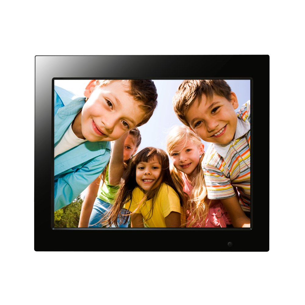 FileMate Joy Series 15-Inch Digital Photo Frame with Alarm and Calendar 3FMPF215BK15-R (Black) by Filemate