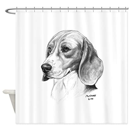 Image Unavailable Not Available For Color CafePress Beagle Shower Curtain