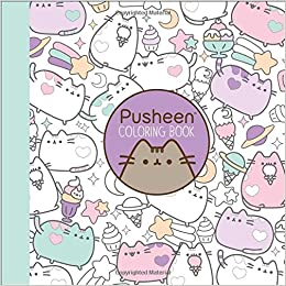 Amazon Pusheen Coloring Book 9781501164767 Claire