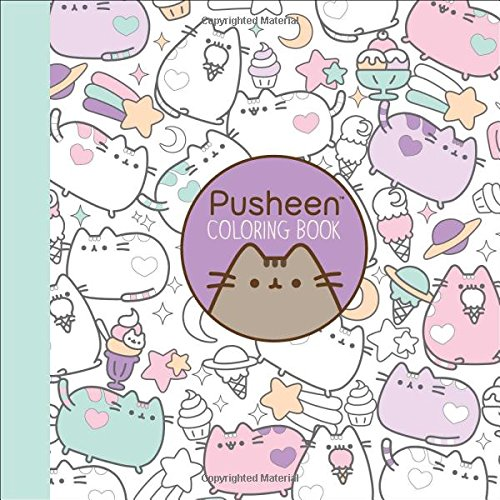 Pusheen Coloring Book Claire Belton