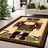 PRO RUGS Christmas Rug Holiday Décor Area Rug 3ft4in X 4ft6in (Nutcracker) Review
