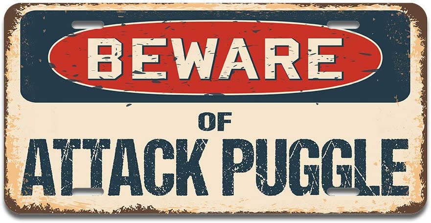 RV Truck Made in The USA SignMission Beware of Attack Llama Aluminum License Plate 12 X 6 Fits Any Car or Trailer SUV