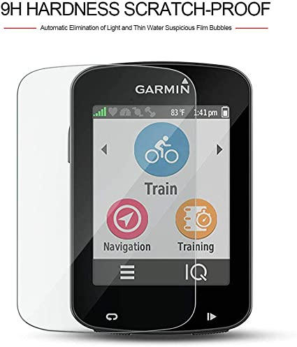 【2Pack】 for Garmin Edge 830 Tempered Glass Anti Scratch Bubble Free HD Clear 9H Hardness 99.9/% transparency Garmin Edge 830